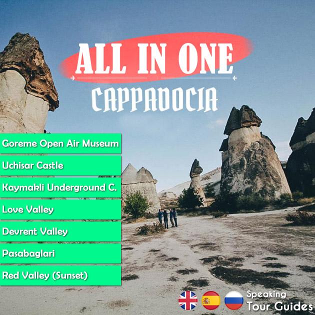All In One Cappadocia Tour
