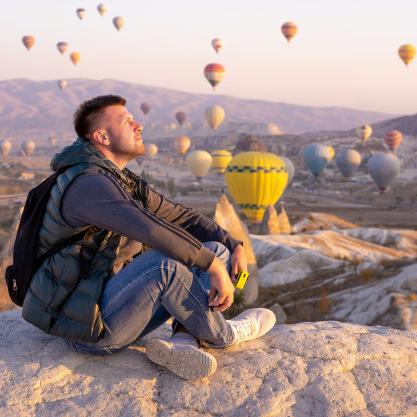 cappadocia balloon watching tour